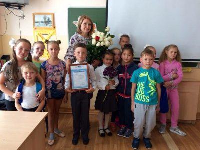 Акцию «Дети вместо цветов» поддержали и в Иркутске.